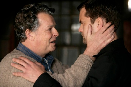 John Noble and Joshua Jackson on Fringe