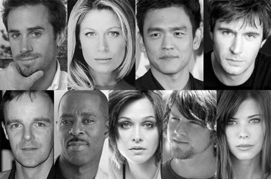 The cast of 'Flash Forward'